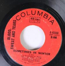 Rock 45 Blood, Sweat And Tears - Sometimes In Winter / And When I Die On Columbi