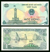 Vietnam 1 Dong Banknote P-90 ND 1985 UNC