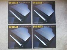 David Foster 4 album cover slicks for Symphony Sessions 1988 Atlantic Records