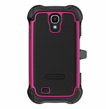 Ballistic Samsung Galaxy S4 MAXX Series Case with Holster SX1159-A195 Black/Pink