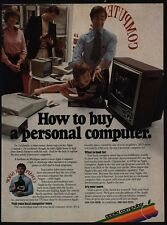 1980 APPLE Computers - How To Buy A Personal Computer - Steve Jobs - VINTAGE AD