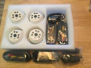Indoor 4 CCTV Camera Kit.