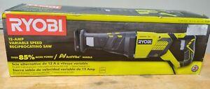 Ryobi Corded 12-Amp Variable Speed Reciprocating Saw 1440W RJ186V