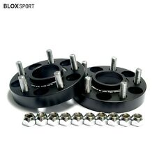 """4Pc 1"""" 25mm Hub Centric 5x100 to 5x112 Wheel Adapters Spacers for VW Golf Jetta"""