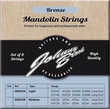 De alta calidad de Bronce Mandolina Cuerdas (Calibre Medio)