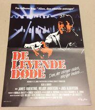 """""""Dead & Buried"""" Farentino Anderson Albertson 1981 Danish Movie Press Release Kit"""