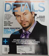 Details Magazine Mark Wahlberg & Ellen Degeneres May 2005 042715R