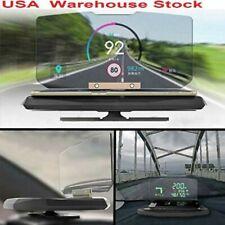 HUD Display Car Cell phone GPS Navigation Reflector Universal Holder Mount US