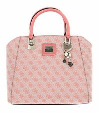 Guess Candace elite Carryall bolso bolso coral rosa nuevo