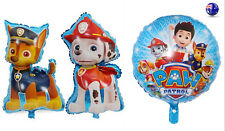 3x Girl Boy Child Kids Paw Patrol Birthday Party Foil Balloons Hanging decor