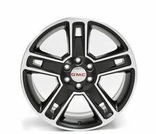 """22"""" GMC Yukon Wheels Sierra Chevy CK160 Rims 2015-16 Gloss Black Mach 22x9 5664"""
