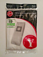 3 GENUINE Hoover Y 4010100Y /43655109 WindTunnel upright Vacuum Filter Bags NEW