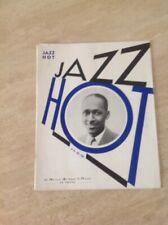 Jazz hot N°28 Revue Du hot Jazz Club De France Dec 1948 Couv Bill Coleman