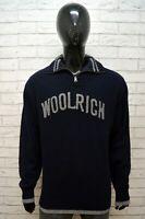 WOOLRICH Maglione Uomo Pullover Taglia 2XL Sweater Cardigan Lana Felpa Maglia