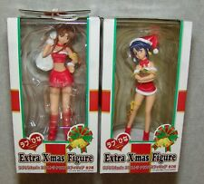 NEW SEGA LOVE HINA Extra Christmas Figure Set NARU & SHINOBU     USA SELLER