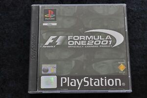 Formula One 2001 Playstation 1 PS1 Rental New Dutch Rare