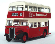 26327 EFE Guy Arab II Utility Double Deck Bus Stockport Corporation 1:76 Diecast