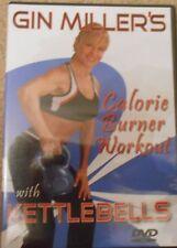 Gin Miller Calorie Burner Workout with Kettlebells DVD Fitness Strength Cardio