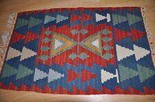Anatolia Turkish 33 x 22 Area Rug Kelim Carpet Wool