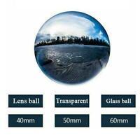 1PC Glass ball Photography Lens Ball Photo Prop Background Home Decor ball C9E8
