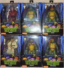 Lot of 6 Neca TMNT Teenage Mutant Ninja Turtles 1990 Movie 7 Inch figures MISB
