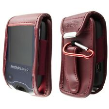 caseroxx Leather-Case with belt clip for Freestyle Libre 1 / 2 /  Insulinx / 14