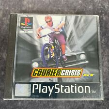 Courier Crisis ps1 Playstation 1 PAL Game komplett GT Bike Action