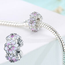 Crystal Bead Charm Bead Clip Stopper For European Bracelet DIY Jewelry