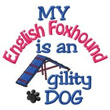 My English Foxhound is An Agility Dog Short-Sleeved Tee - Dc1802L