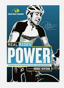 Real Rides Force DVD Robbie Ventura Cycleops Trainer Brand New