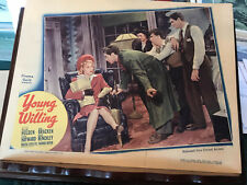 """Young And Willing 1943 United Artists 11x14"""" lobby card William Holden Martha O'"""