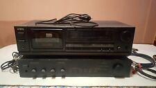 AIWA HX-PRO AD-FD400 cassette stereo tape and PARASOUND C/HD-350