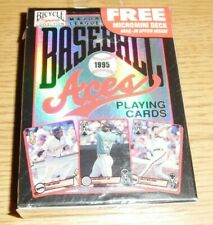 1995 Baseball Aces Bicycle Playing Cards Deck Unopened New Major League MLB