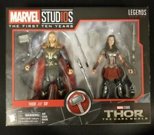 Thor & Sif Marvel Legends 2 Pack MCU 10th Anniversary
