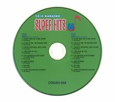 Super Hits CD+G Karaoke VOL. 68 Broadway Free Shipping 48 Continental USA