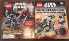 LEGO+Star+Wars%3A+2+Brickmaster+Books.No+Minifigures%2FLegos