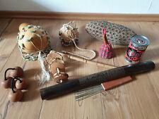 Shaker Sortiment Afrika Baobab Kalebasse Percussion Rassel Klapper Guinea