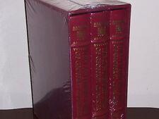 Easton Press THE CANTERBURY TALES 3 vols Geoffrey Chaucer Illus. W Russell Flint