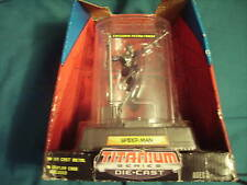 Spiderman Titanium Series Die Cast w/ Display Case NIB