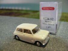 1/87 Wiking Morris Mini Minor creme 0226 02