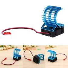 5 v Motor Heat Sink Radiator With Cooling Fan for 1/10 HSP RC Car 380 390 Motor