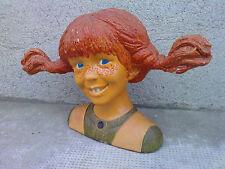 tirelire ceramique fifi brindacier Pippi longstocking Spardose piggy bank