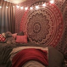 Hippie Mandala Bedspread Wall Hanging Indian Bohemian Picnic Sheet Bedding Throw