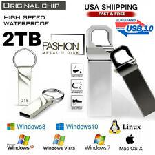 2TB Durable USB 3.0 Flash Drives Memory Stick Pen U Disk Key for PC LAPTOP 32GB
