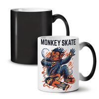 Monkey Skate NEW Colour Changing Tea Coffee Mug 11 oz | Wellcoda