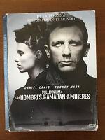 MILLENNIUM: LOS HOMBRES QUE NO AMABAN A LAS MUJERES - 1 DVD - 152 MIN - CASEBOOK