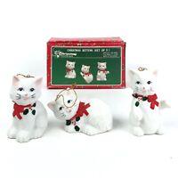 Vintage Christmas Around the World House of Lloyd Christmas Kittens Ornaments