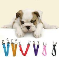 Dog Pet Safety Car Vehicle Strap Seatbelt Seat Belt Harness Lead Adjustable H4D5