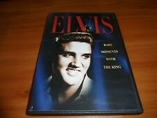 Elvis - Rare Moments With the King (DVD,2002) Used Documentary Presley