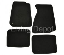 Fit For 94-98 Ford Mustang 2Dr Floor Mats Carpet Front & Rear Nylon Black 4PC